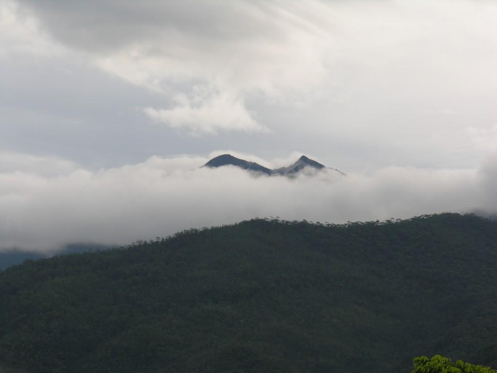 Mūsų pirmasis žvilgsnis iš medžiotojų trobelės į Viktorijos kalną
