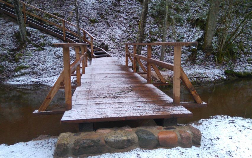 Už lankytojo bilietus Anykščių regioniniame parke atnaujinta infrastruktūra
